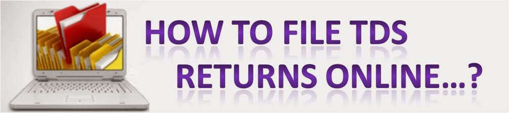 how to file tds returns online