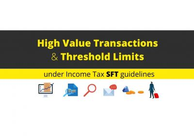 FEW WAYS THROUGH - DEPARTMENT IS MONITORING YOUR HIGH-VALUE TRANSACTIONS