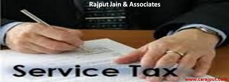 www.carajput.com;Service Tax
