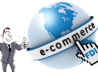 FDi in E Commerce www.carajput.com