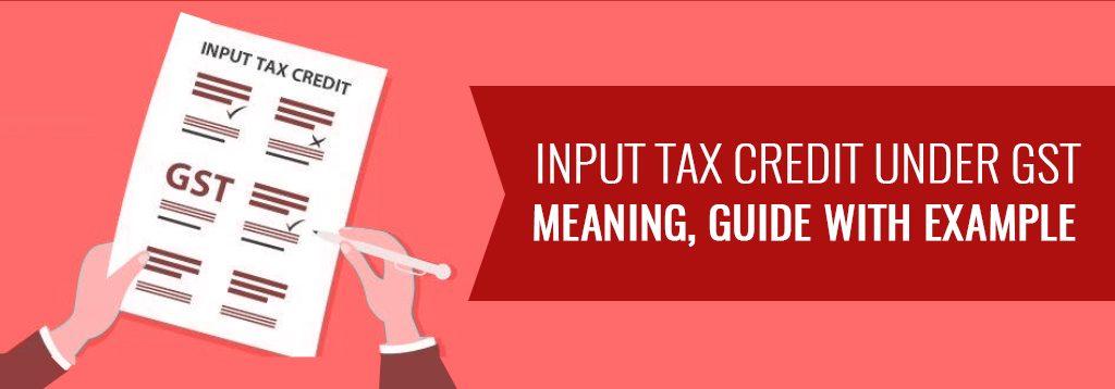 www.carajput.com; Input-Tax-Credit-under-GST