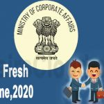 www.carajput.com;MCA Company fresh start scheme,2020