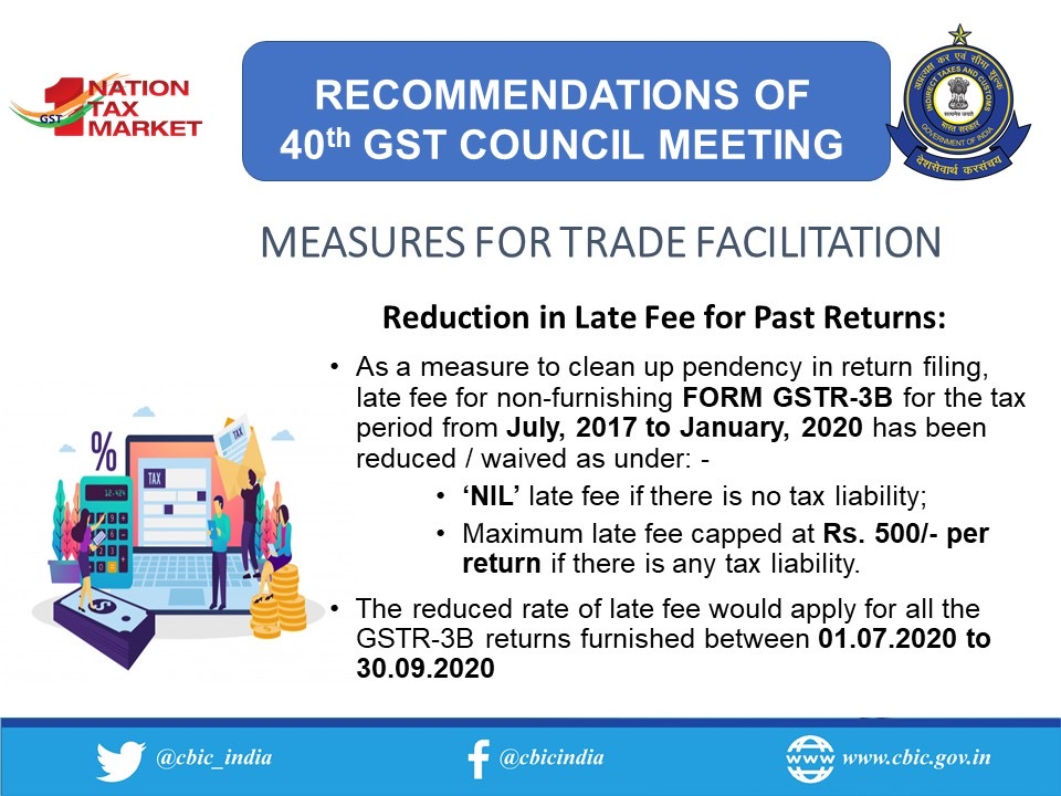 www.carajput.com;GST 40th Council meeting