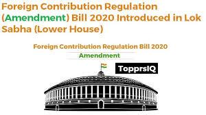 www.carajput.com; Foregin contribution (regulation) amendment bill, 2013