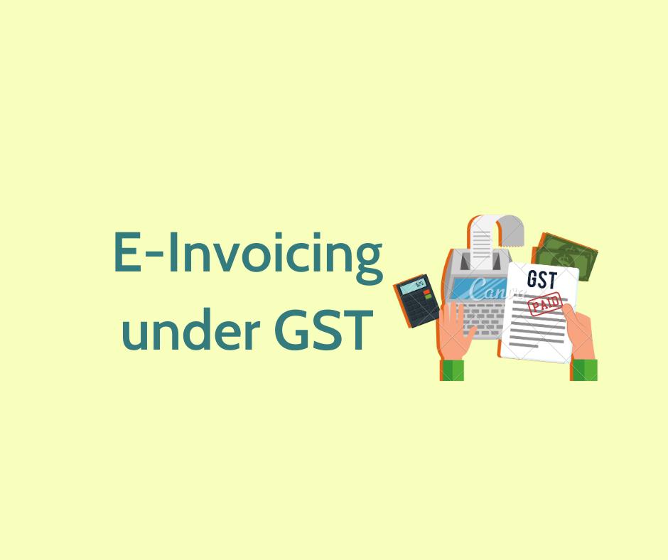 www.carajput.com;GST E-Invoice