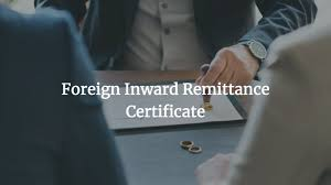 www.carajput.com; Foreign Inward Remittance Certificate